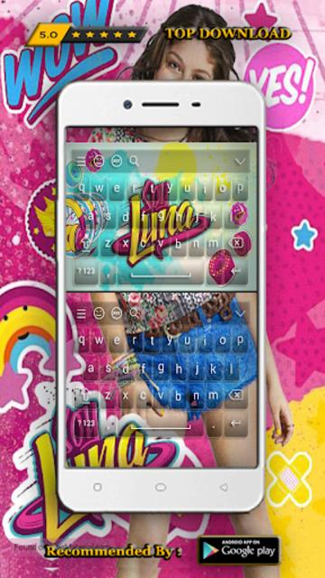 New Keyboard For Soy Luna screenshot 4
