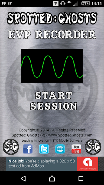 EVP Recorder - Spotted: Ghosts screenshot 1