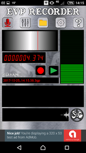 EVP Recorder - Spotted: Ghosts screenshot 2