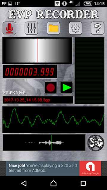 EVP Recorder - Spotted: Ghosts screenshot 3