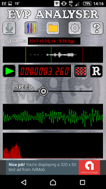 EVP Recorder - Spotted: Ghosts screenshot 4