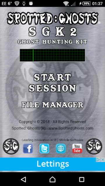 SGK2 - Ghost Hunting Kit screenshot 1