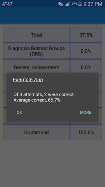 Nurse Trauma TCRN QA Review screenshot 2