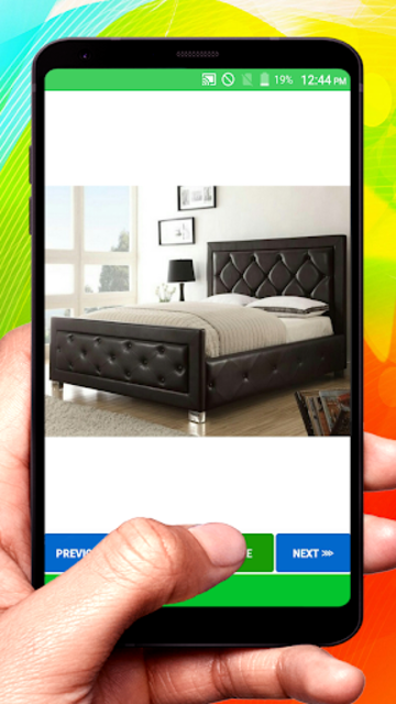 Wooden Designer Bed screenshot 4