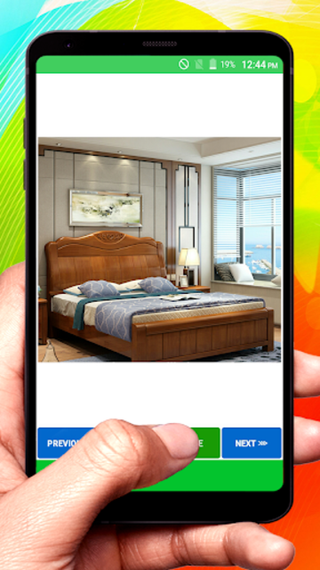 Wooden Designer Bed screenshot 8