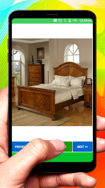 Wooden Designer Bed screenshot 10
