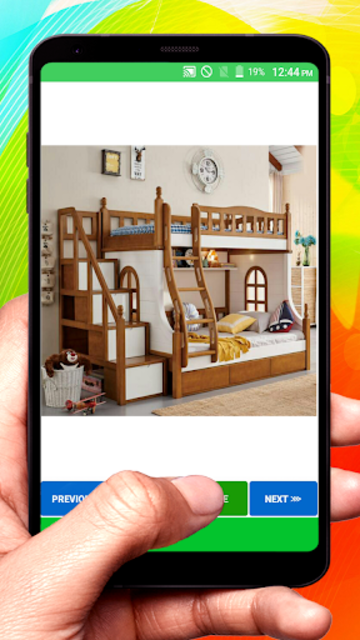 Wooden Designer Bed screenshot 22