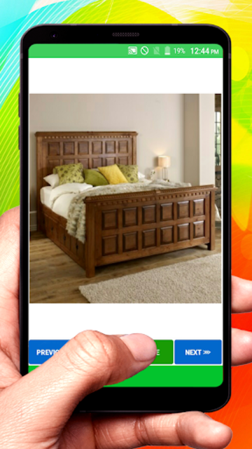 Wooden Designer Bed screenshot 23