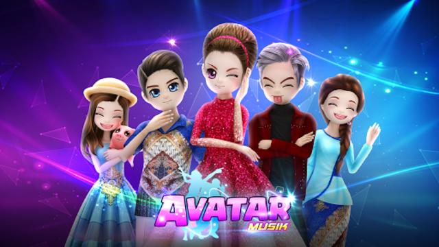 AVATAR MUSIK INDONESIA - Social Dancing Game screenshot 1