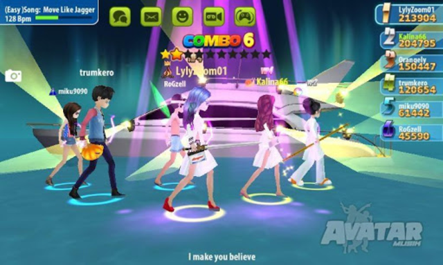 AVATAR MUSIK WORLD - Music and Dance Game screenshot 7