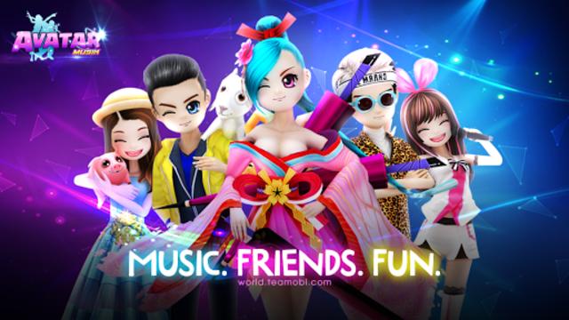 AVATAR MUSIK WORLD - Music and Dance Game screenshot 8