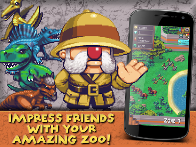 Idle Dino Zoo screenshot 7