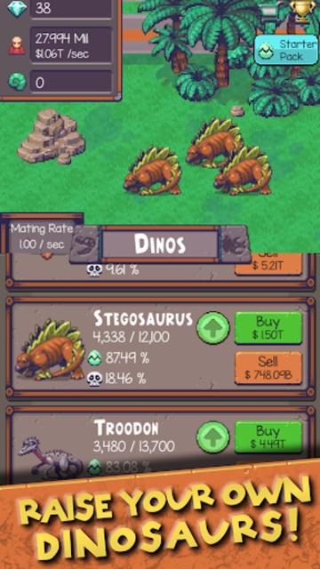 Idle Dino Zoo screenshot 19