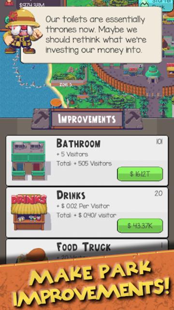 Idle Dino Zoo screenshot 20