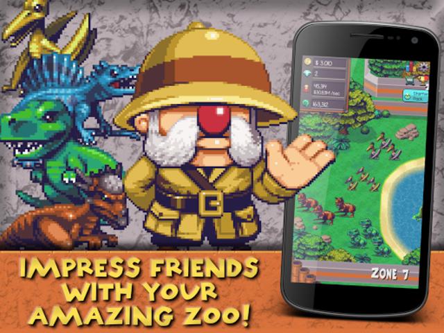 Idle Dino Zoo screenshot 14