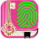 Icon for My personal diary with fingerprint password