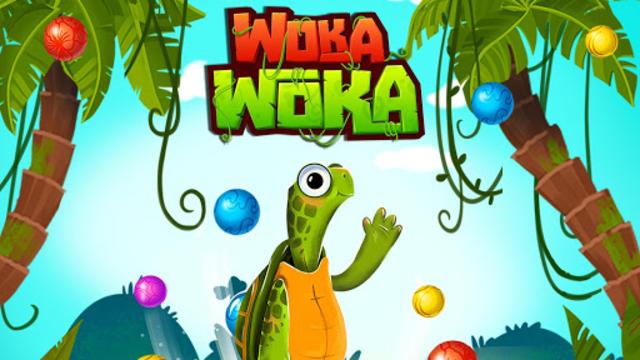 Marble Woka Woka from the jungle to the marble sea screenshot 21