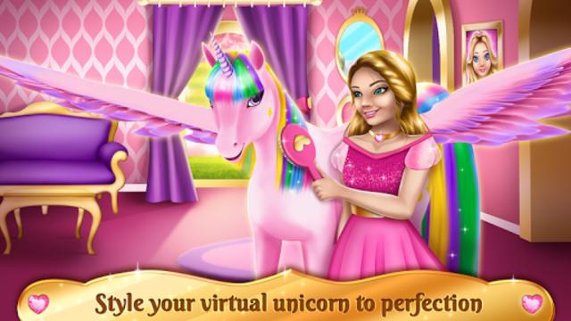 Unicorn Games - Horse Dress Up screenshot 1