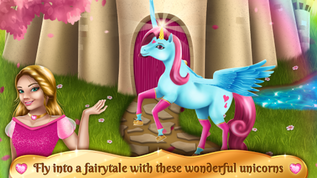 Unicorn Games - Horse Dress Up screenshot 2