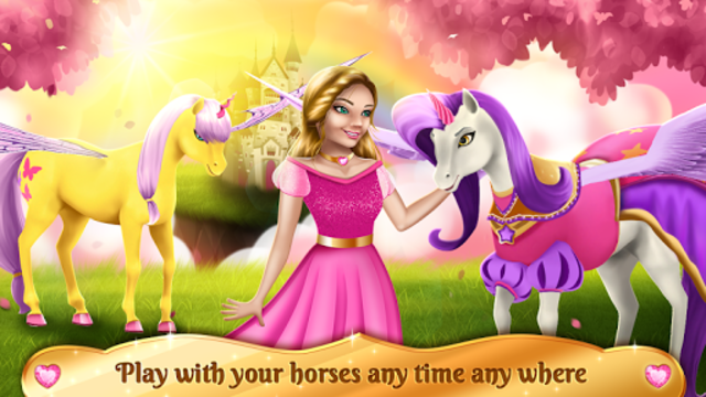 Unicorn Games - Horse Dress Up screenshot 3