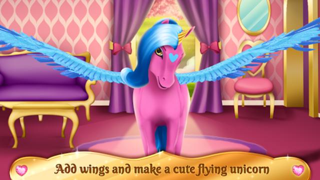 Unicorn Games - Horse Dress Up screenshot 4