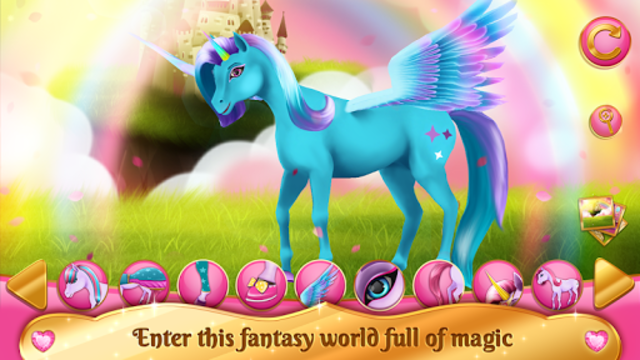 Unicorn Games - Horse Dress Up screenshot 5