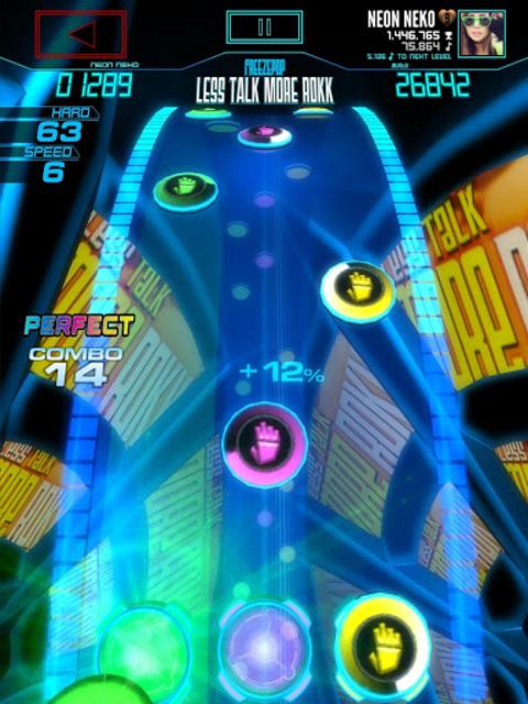 Neon FM™ — Arcade Rhythm Game screenshot 8