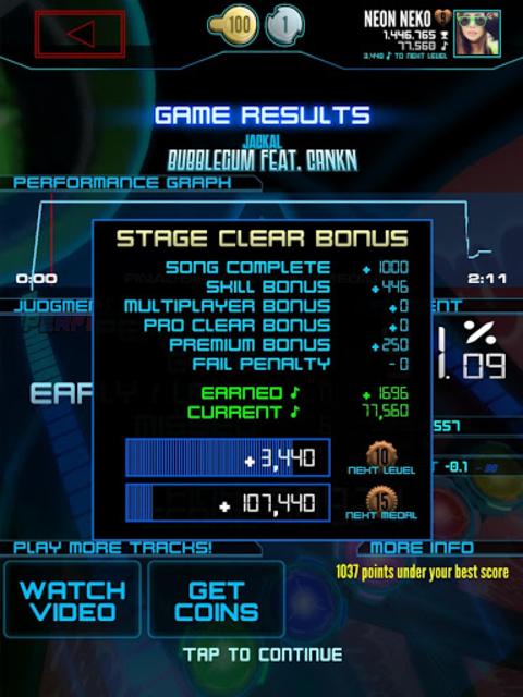 Neon FM™ — Arcade Rhythm Game screenshot 13