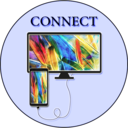 Icon for usb hdmi connect screen phone android checker tv