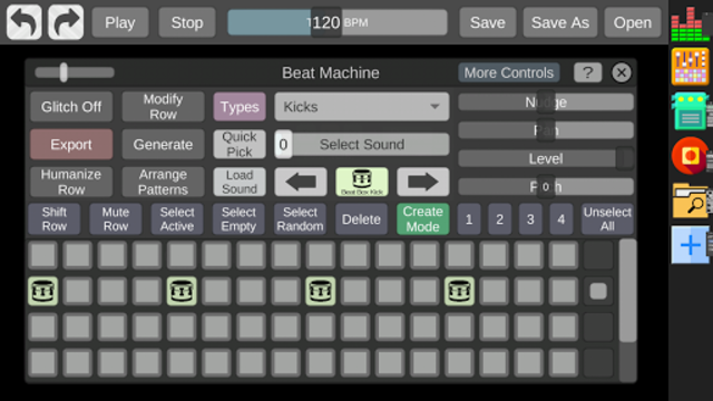 Beat Machine - Audio Sequencer screenshot 1