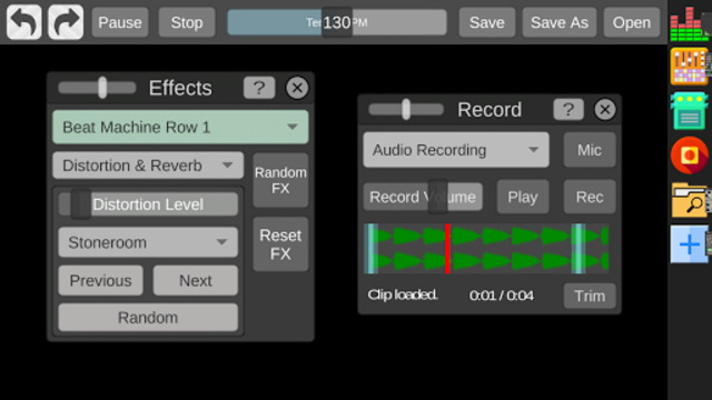 Beat Machine - Audio Sequencer screenshot 3