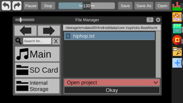 Beat Machine - Audio Sequencer screenshot 4