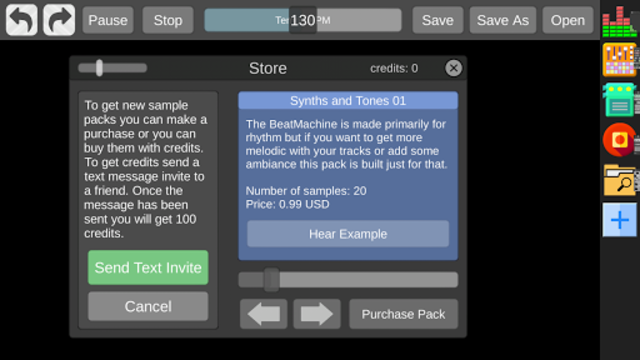 Beat Machine - Audio Sequencer screenshot 5