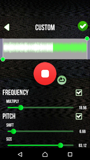 Scary Voice Changer - Horror Sounds Voice Recorder screenshot 3