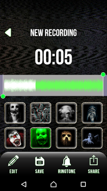 Scary Voice Changer - Horror Sounds Voice Recorder screenshot 4