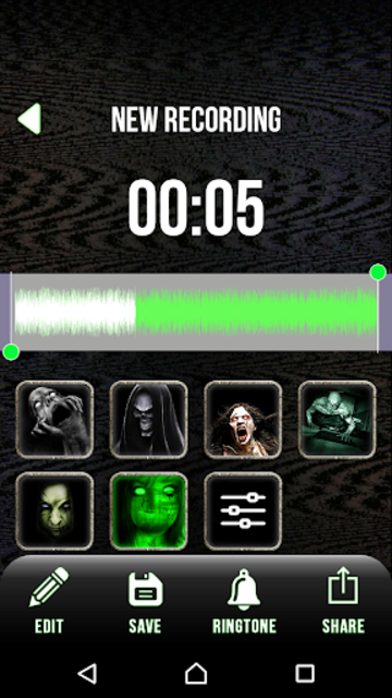 Scary Voice Changer - Horror Sounds Voice Recorder screenshot 6