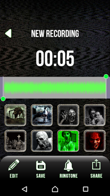 Scary Voice Changer - Horror Sounds Voice Recorder screenshot 7