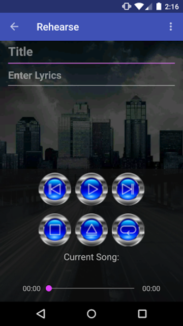 RoadWriter for Songwriting screenshot 2