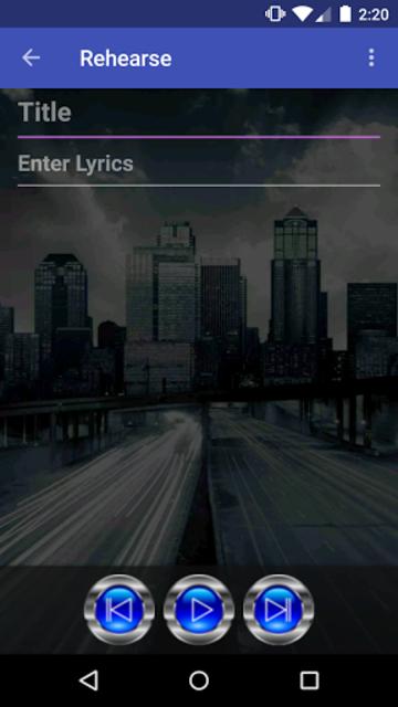 RoadWriter for Songwriting screenshot 3