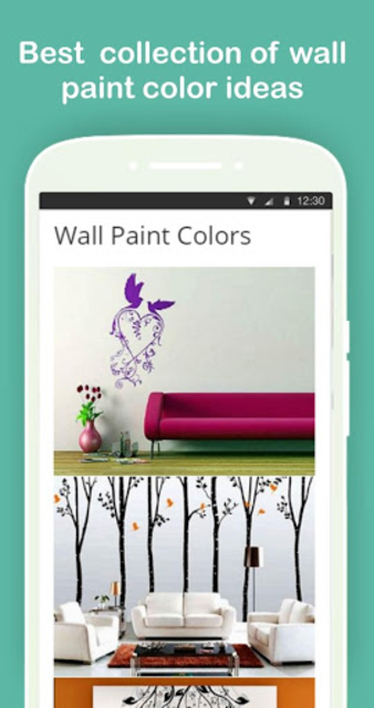 Wall Paint Color Ideas (Complete Collection) screenshot 1