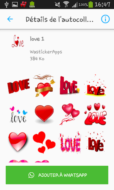 Love & Relationship stickers -WAStickerApps screenshot 2