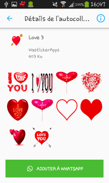 Love & Relationship stickers -WAStickerApps screenshot 4