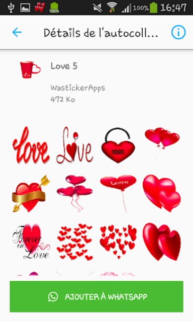 Love & Relationship stickers -WAStickerApps screenshot 5