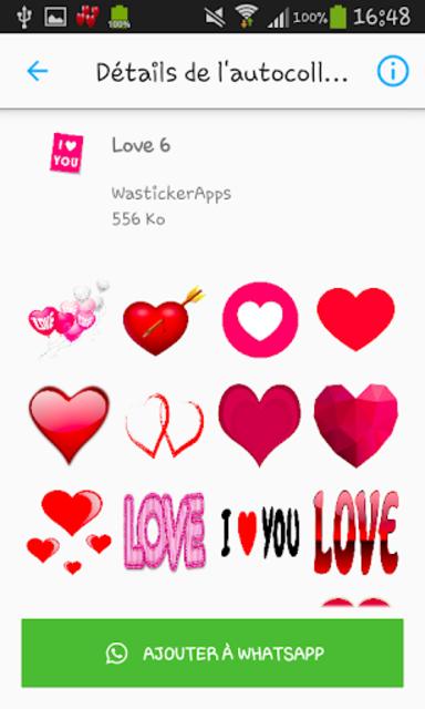 Love & Relationship stickers -WAStickerApps screenshot 6