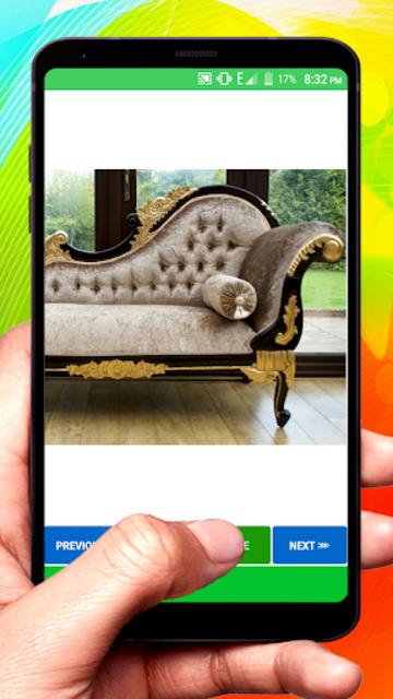 Wooden Sofa Set Design idea screenshot 7