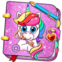 Icon for Unicorn Secret Diary with Lock 🦄 Personal Journal