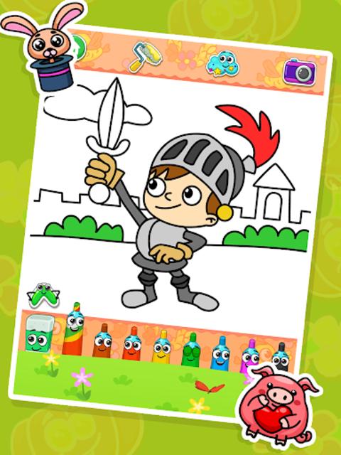 Coloring games : coloring book screenshot 8