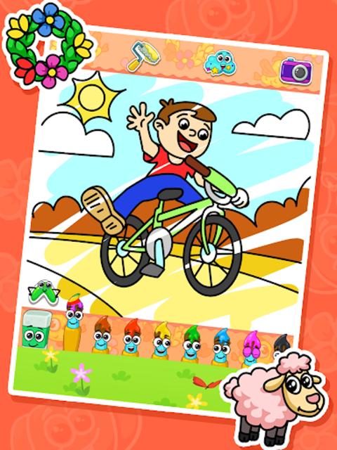 Coloring games : coloring book screenshot 13