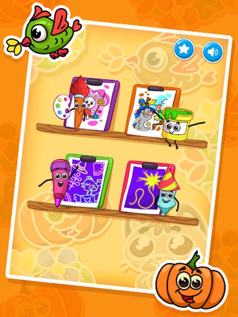 Coloring games : coloring book screenshot 17