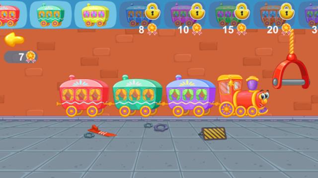 Railway: train for kids screenshot 8